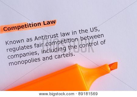 Competitive Law