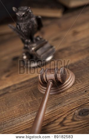 Gavel, Mallet of justice concept