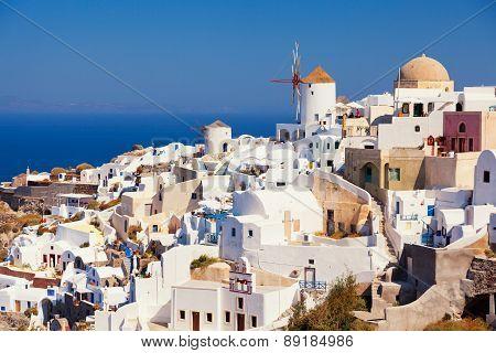 Oia Cityscape, Santorini