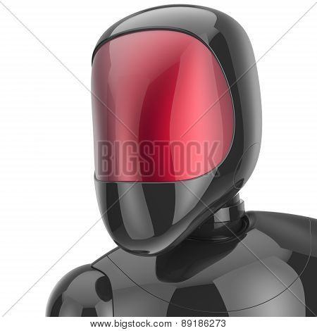 Robot Cyborg Android Futuristic Bot Artificial Character Avatar