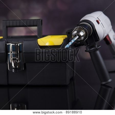 Construction tools, house renovation concept