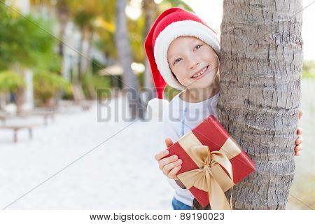 Christmas Theme At The Beach