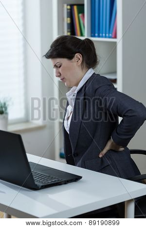 Backache Caused By Sedenary Work