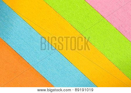 Abstract Slanted Colored Paper Background