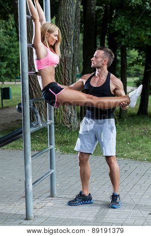 Workout With Instructor