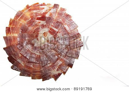 Circle Of Spanish Ham