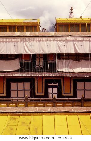 Potala Rooftop, Lhasa, Tibet