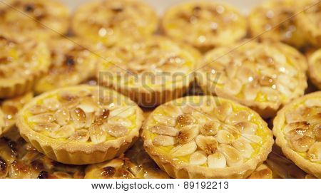 Almonds Portuguese Pastries
