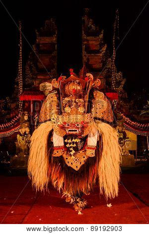 Barong Dance, The Traditional Balinese Performance