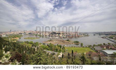 Halic (Golden Horn), Istanbul, Turkey