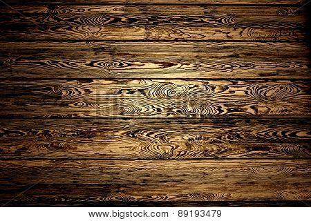 background of pine boards