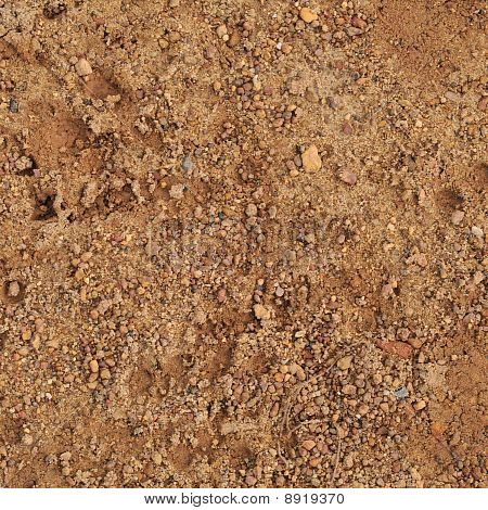 Coarse sand pattern