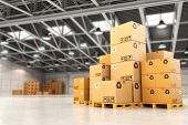 picture of warehouse  - Delivery concept - JPG