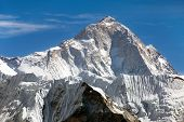 foto of passed out  - View of mount Makalu  - JPG