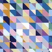 foto of parallelogram  - Abstract geometric vector varicolored background - JPG