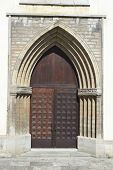 foto of nicholas  - Old door of St - JPG