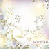 picture of prospectus  - abstract background with geometric elements and geometric shapes - JPG