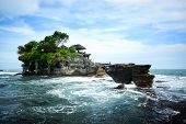 pic of tanah  - Pura Tanah Lot one of famous attraction in Bali Indonesia - JPG