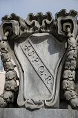 image of spqr  - ancient symbol of Rome - JPG