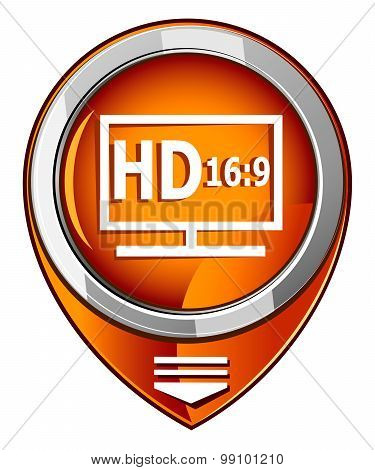 Hd Display Orange Pointer