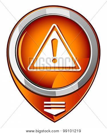 Warning Orange Pointer