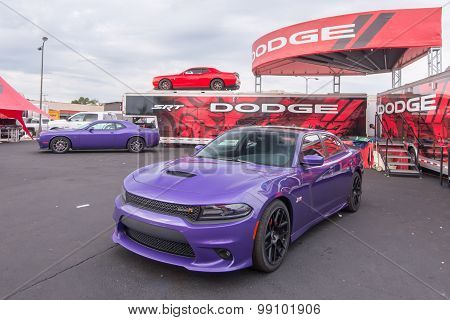 2015 Dodge Challenger and Charger, Woodward Dream Cruise, MI