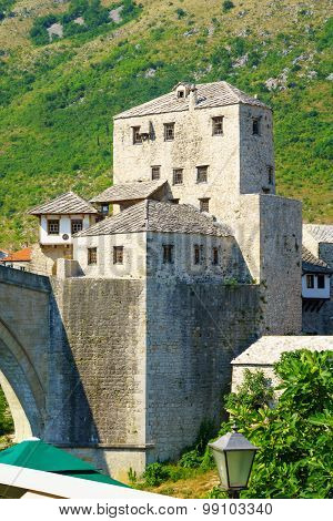 West Bridge Tower, Mostar