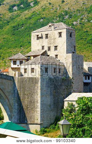 West Bridge Tower, Mostar