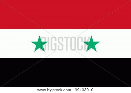 Flag Of The Syria
