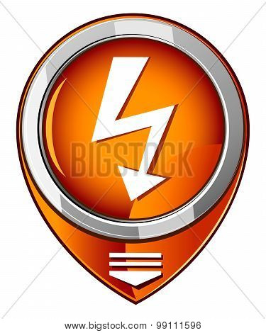 Lightning Orange Pointer