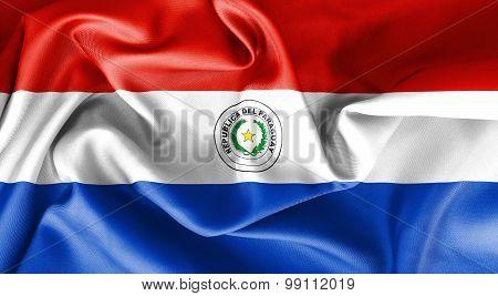 Paraguay Flag Obverse Side