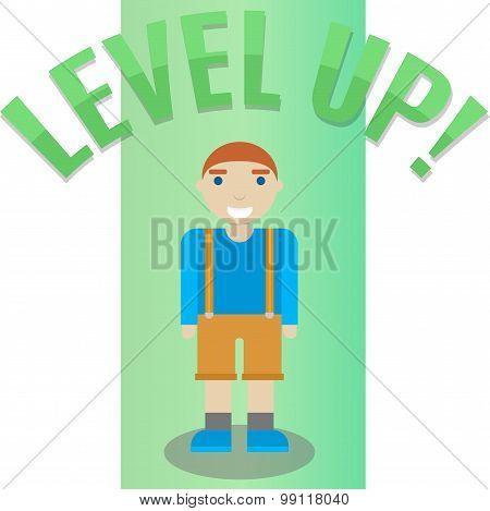 Level up, boy