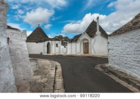 Old Street In Alberobello