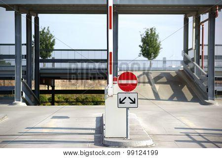 Parking exit