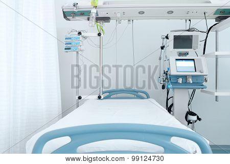 Bed In ICU