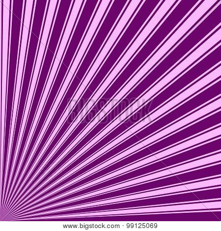 Purple Color Stripe Funky Sun Rays Backgound
