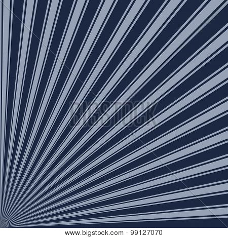 Yankees blue Color Stripe Funky Sun Rays Backgound