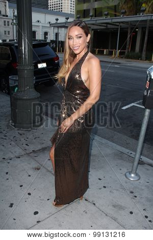 LOS ANGELES - AUG 17:  Korrina Rico at the
