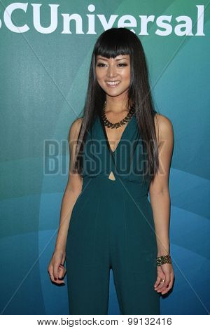LOS ANGELES - AUG 13:  Kiki Sukezane at the NBCUniversal 2015 TCA Summer Press Tour at the Beverly Hilton Hotel on August 13, 2015 in Beverly Hills, CA