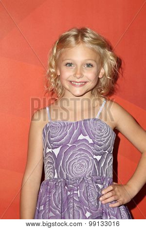 LOS ANGELES - AUG 13:  Alyvia Alyn Lind at the NBCUniversal 2015 TCA Summer Press Tour at the Beverly Hilton Hotel on August 13, 2015 in Beverly Hills, CA