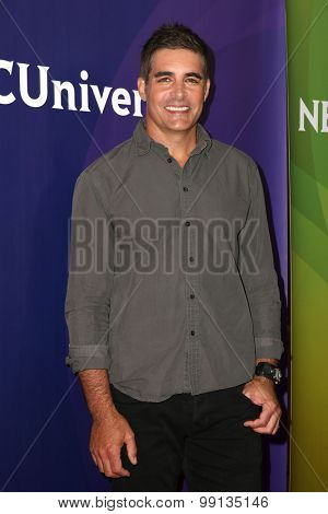 LOS ANGELES - AUG 13:  Galen Gering at the NBCUniversal 2015 TCA Summer Press Tour at the Beverly Hilton Hotel on August 13, 2015 in Beverly Hills, CA