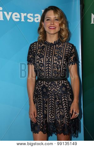 LOS ANGELES - AUG 13:  Sophia Bush at the NBCUniversal 2015 TCA Summer Press Tour at the Beverly Hilton Hotel on August 13, 2015 in Beverly Hills, CA