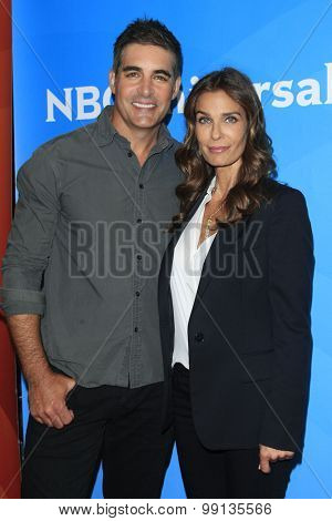 LOS ANGELES - AUG 13:  Galen Gering, Kristian Alfonso at the NBCUniversal 2015 TCA Summer Press Tour at the Beverly Hilton Hotel on August 13, 2015 in Beverly Hills, CA