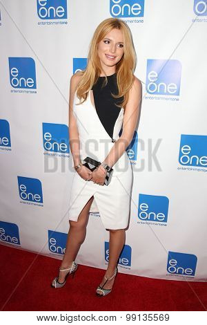 LOS ANGELES - AUG 14:  Bella Thorne at the