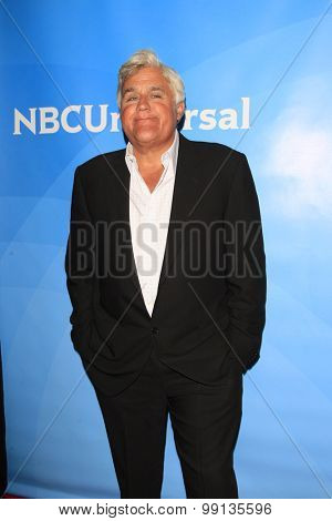 LOS ANGELES - AUG 13:  Jay Leno at the NBCUniversal 2015 TCA Summer Press Tour at the Beverly Hilton Hotel on August 13, 2015 in Beverly Hills, CA