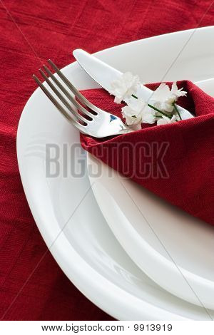 Detail Of Place Setting