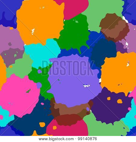 Abstract watercolor illustration of mix colors, background, a mixture of colors, stains. Bright wate