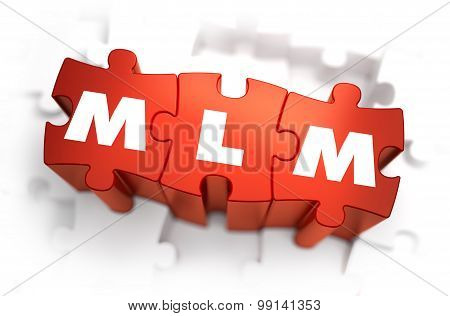 MLM - White Word on Red Puzzles.