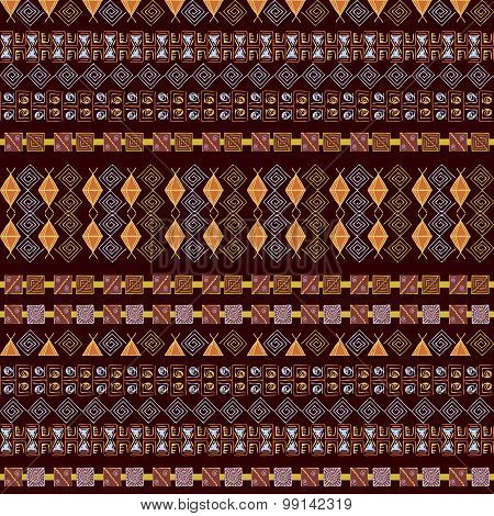 Ethnic American Indian Tribal Pattern