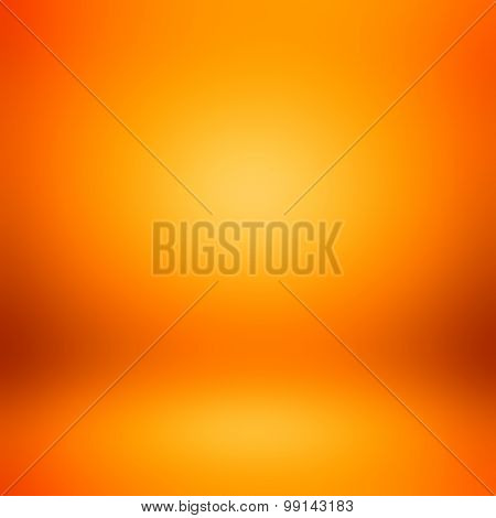 Colorful Orange Room Abstract Background